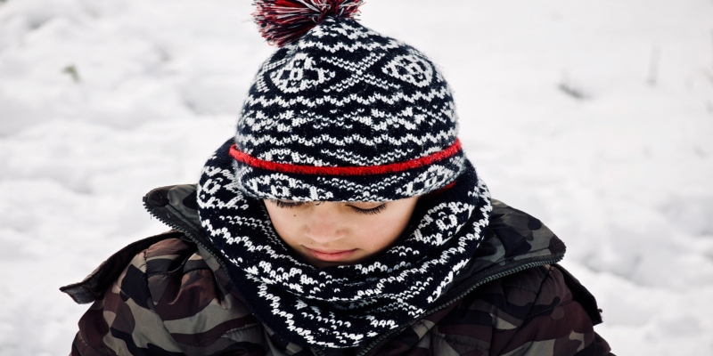 Top tips to keep your child warm this winter