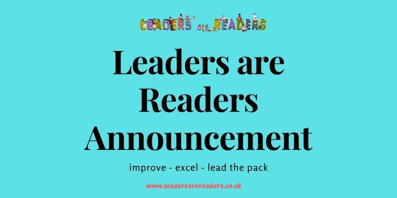 Leaders are Readers Update